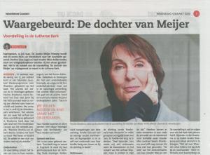 Voorstelling De dochter van Meijer @ Grote Kerk Vreeland